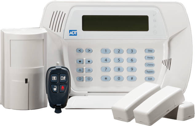 ADT Home Security Equipment - keypad and fob