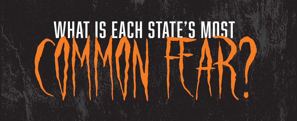 Each State's Most Common Fear