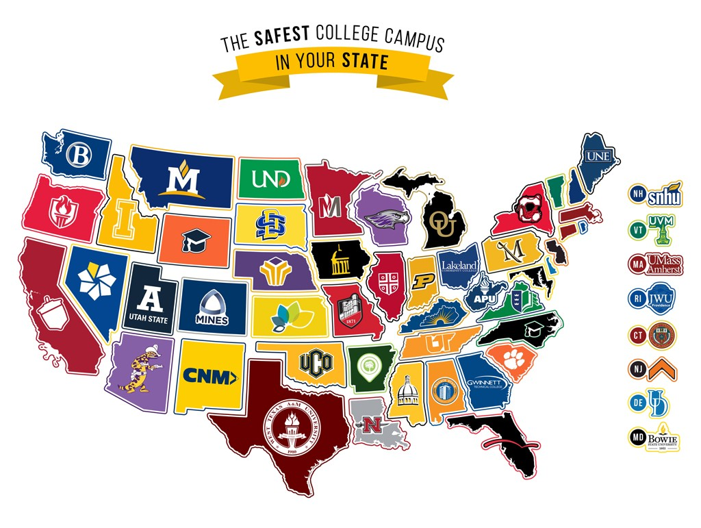 Your Guide to the Nation's Safest College Campuses in 2019